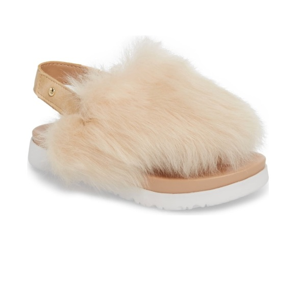 e8dd66006da4 Girls UGG Holly Genuine Shearling Sandal